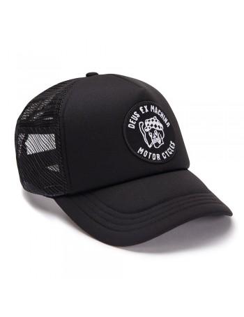 DEUS Hat Smokey Trucker - black