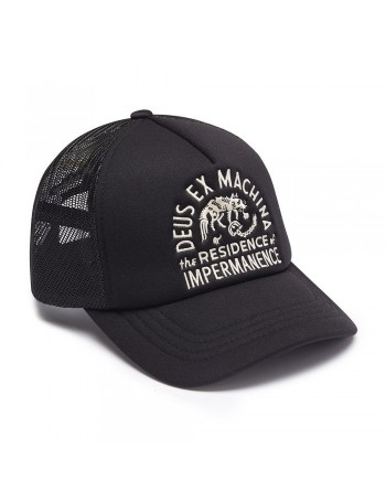 DEUS Hat Trucker RESIDENCE - black