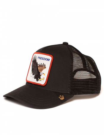 Goorin Bros. Freedom Trucker cap - black