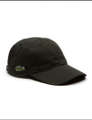 Lacoste hat - Gabardine cap - sherwood