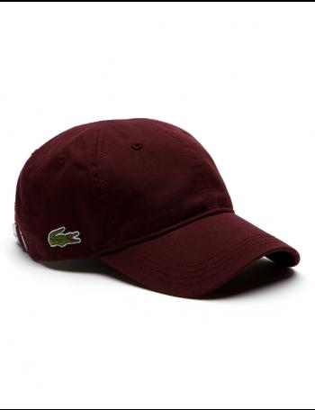 Lacoste hat - Gabardine cap - vendange