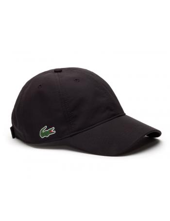 Lacoste hat - Sport cap diamond - black