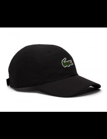 Lacoste hat - Sport Microfiber Crocodile - black