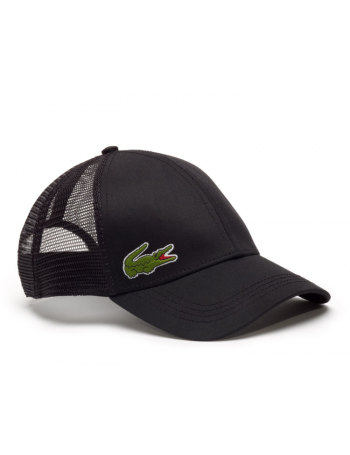Lacoste hat - Trucker cap - black