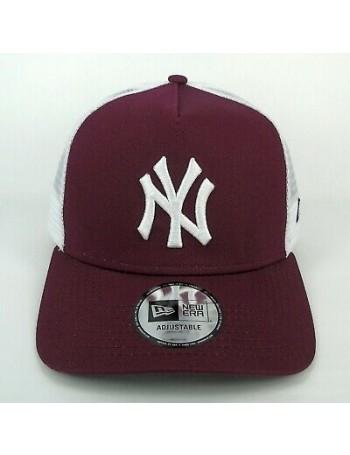 New Era Trucker cap NY New York Yankees - Maroon