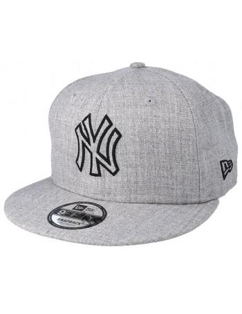 New Era 9Fifty MLB Heather Essential (950) NY New York Yankees - Gray