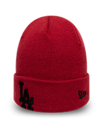 New Era League Essential Cuff Knit Los Angeles Dodgers - Red
