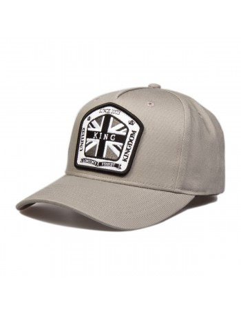 KING Apparel The Regal cap - Stone