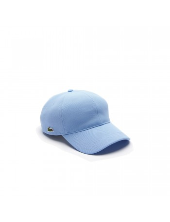 Lacoste cap - Small Croc Gabardine - Bleu