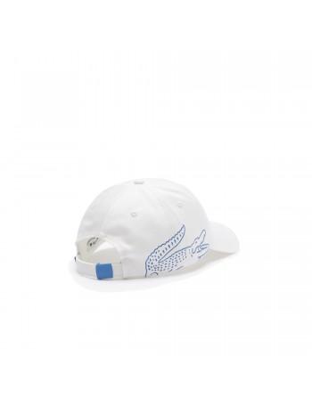 Lacoste cap - Big Sidecroc - White