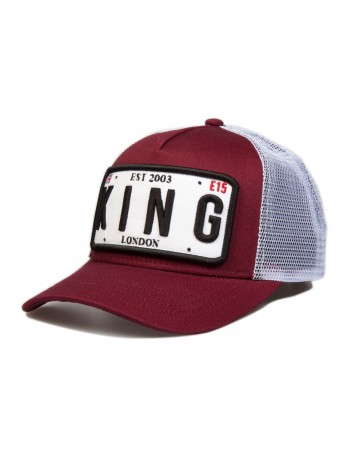 KING Apparel The Sovereign cap - Oxblood