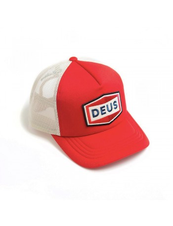 DEUS Speed Stix Trucker cap - Red