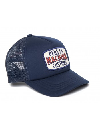 DEUS Title Trucker cap - Blue