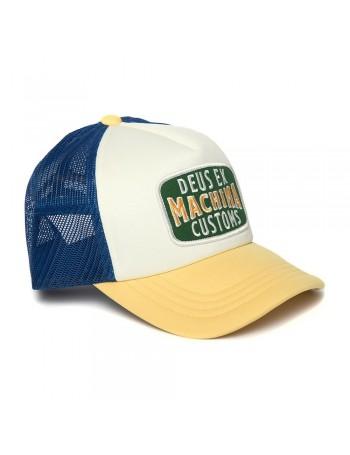 DEUS Title Trucker cap - Dusty Yellow