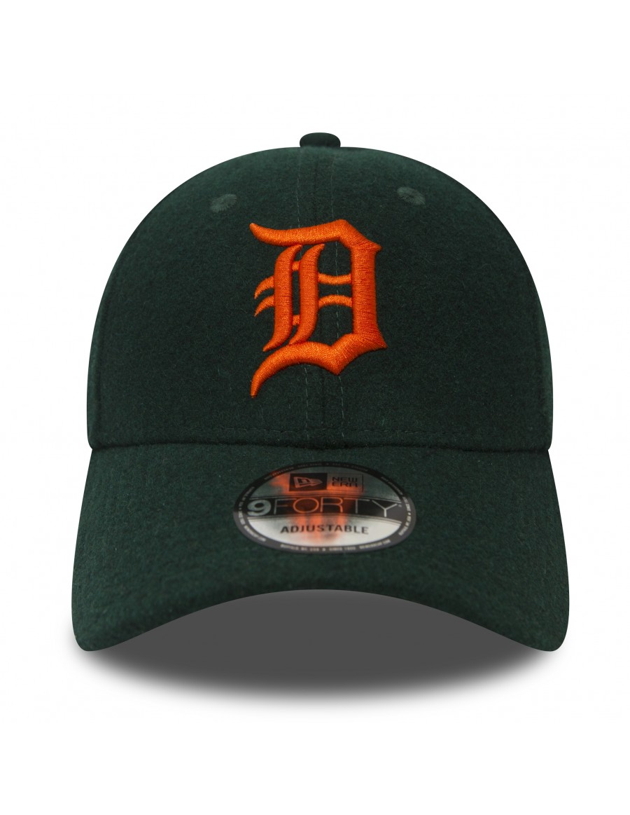 New Era 9FIFTY MLB Detroit Tigers Winter Utility Melton Adjustable Snapback Hat