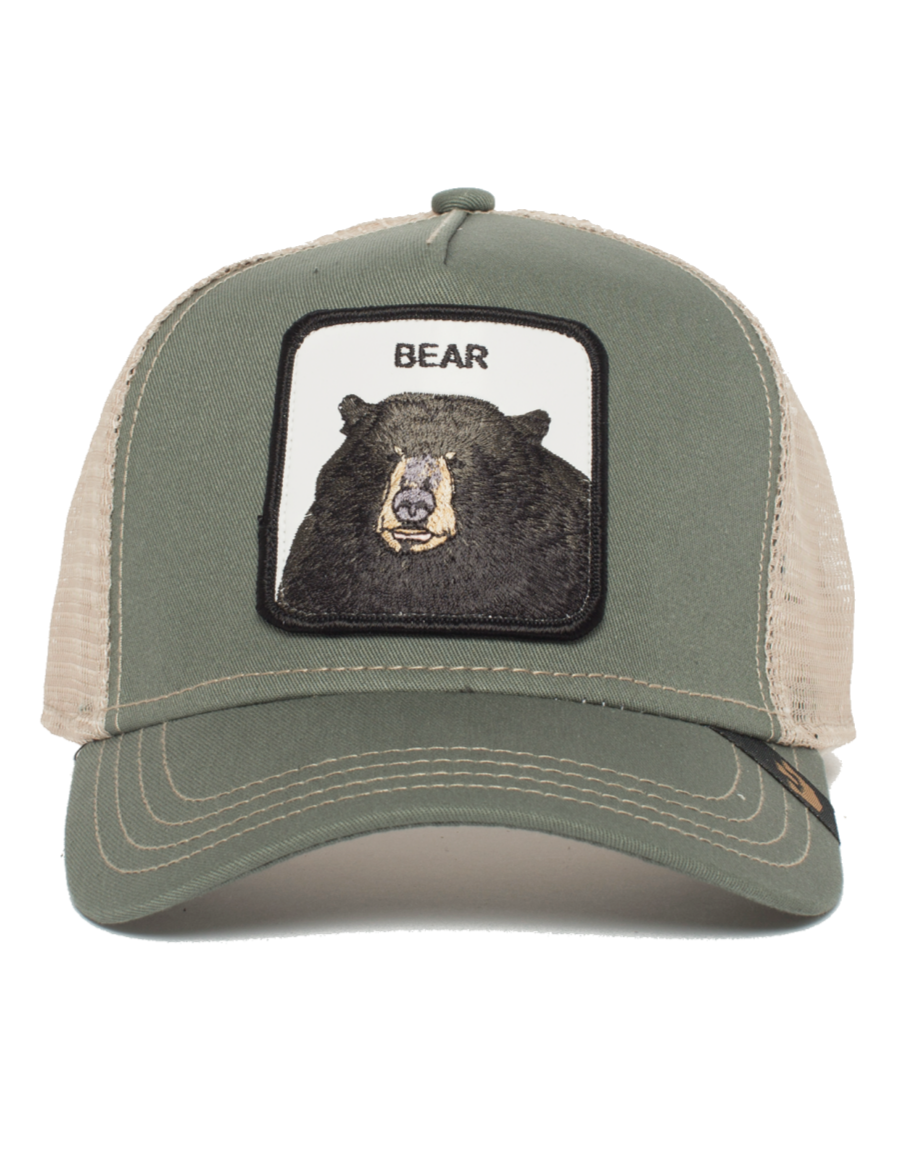 121ee572 Goorin Bros. Black Bear Trucker cap - Olive - €34,95 + LOW shippingcosts