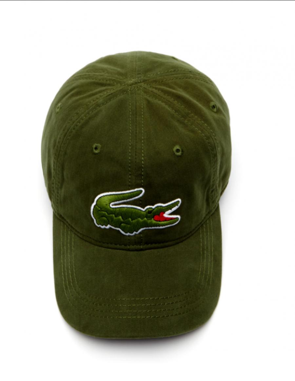 Lacoste hat - Big Croc Gabardine - boscage green - €44 8d17a40eab7