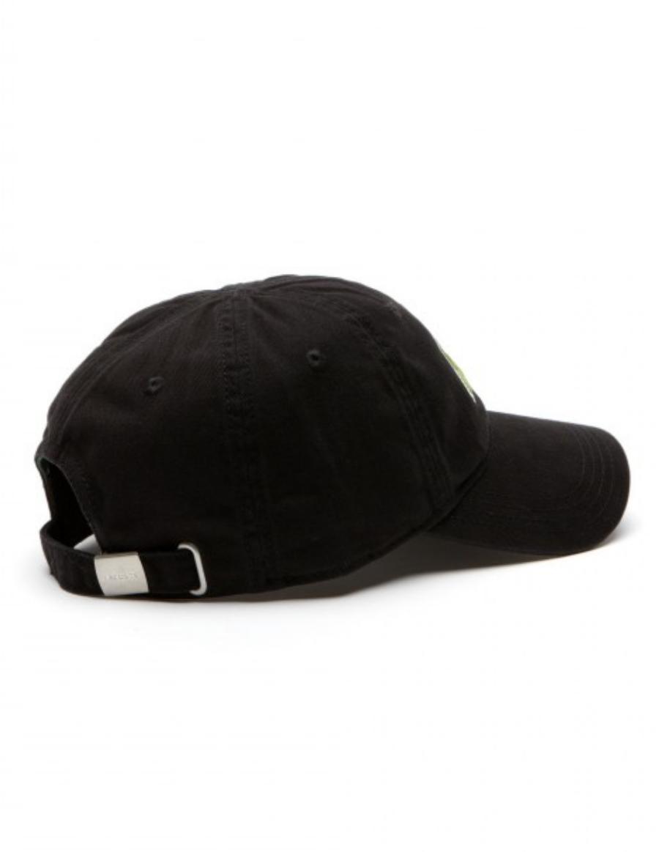 9008dc85 Lacoste hat - Big Croc Gabardine - noir black - €44,95 + LOW ...