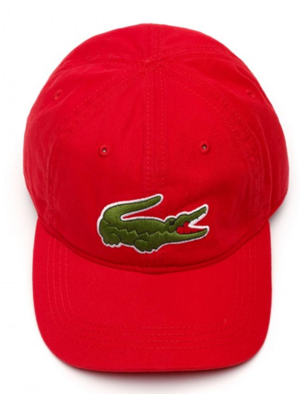 Lacoste hat - Big Croc Gabardine - rouge red - €44 c408d61e3dc