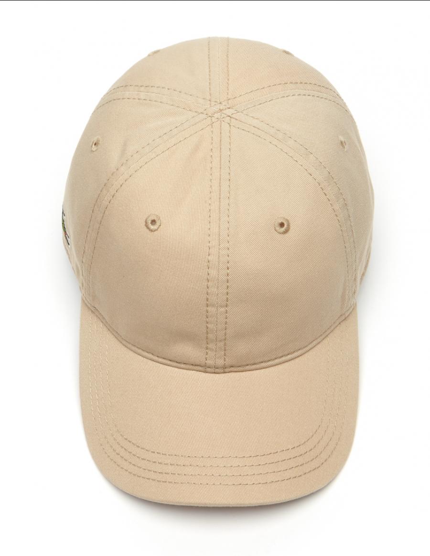 659795ea815 Lacoste hat - Gabardine cap - krema brown - €34