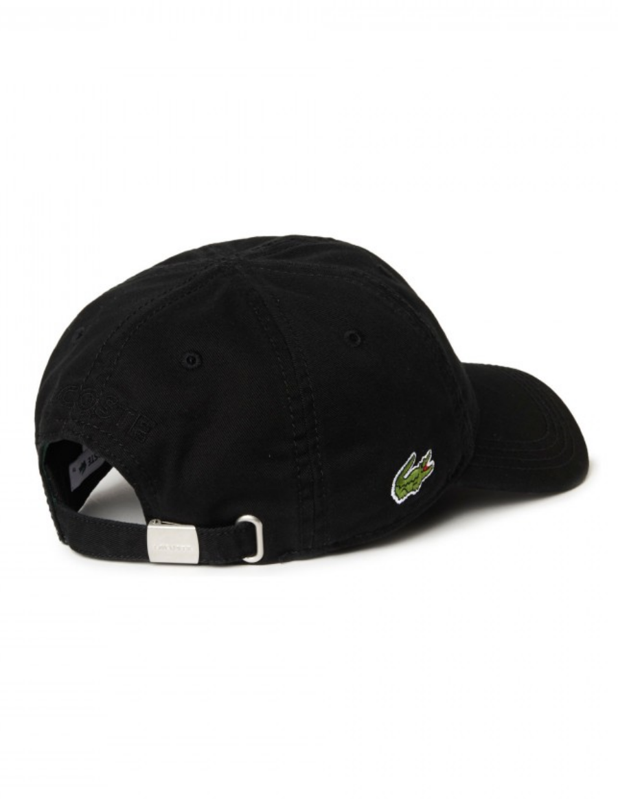39988cc3 Lacoste hat - Gabardine cap - noir black - €34,95 + LOW shippingcosts