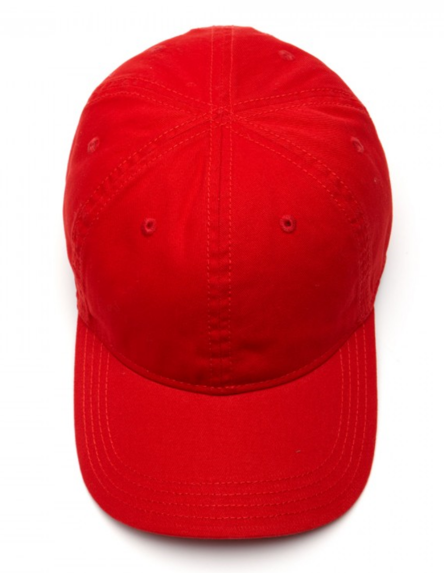 1ccb1a636e9 Lacoste hat - Gabardine cap - rouge red - €34