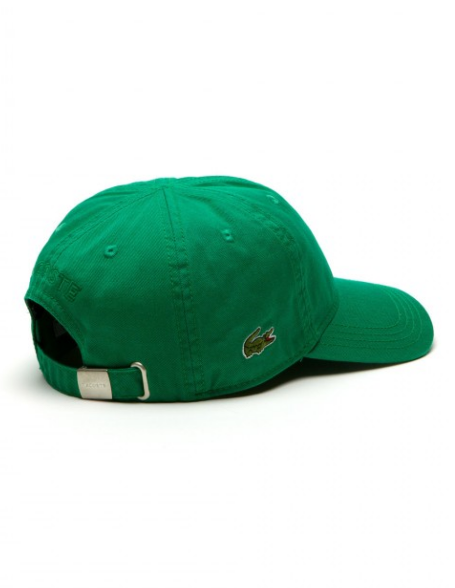 e70812dfd9be48 Lacoste hat - Gabardine cap - yucca green - €34,95 + LOW shippingcosts