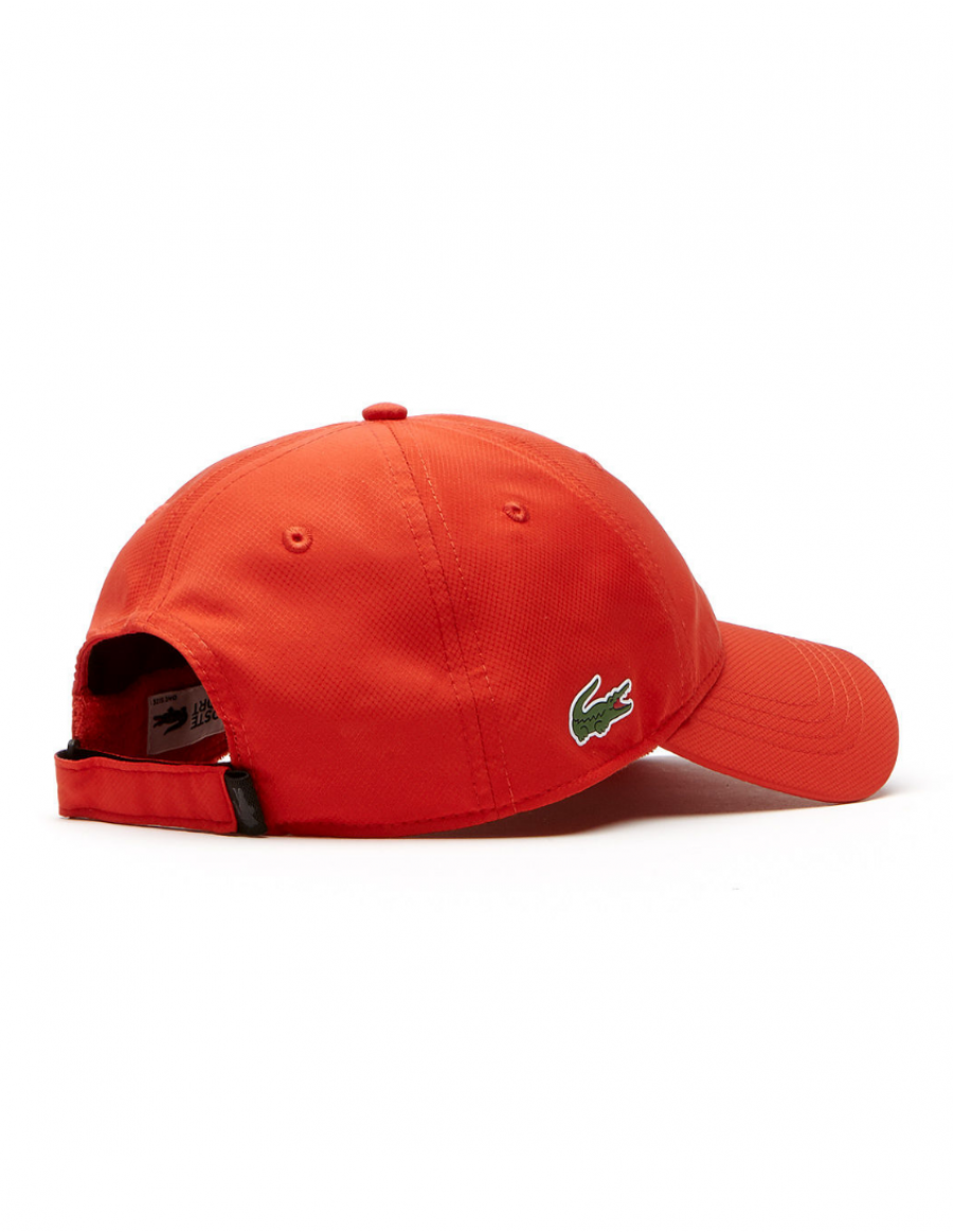 Lacoste hat - Sport cap diamond - etna orange - €34 ff47bd95a09a