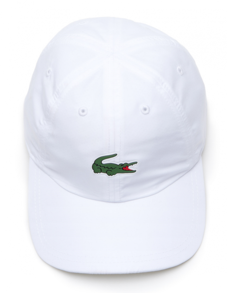 Lacoste hat - Sport Microfiber Crocodile - white + LOW shippingcosts 2a29db7a52e
