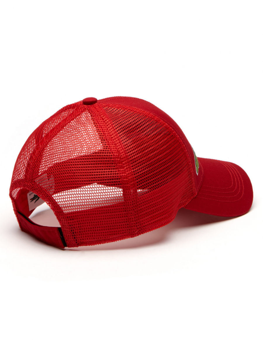 1aec34781 Lacoste hat - Trucker cap - red + LOW shippingcosts