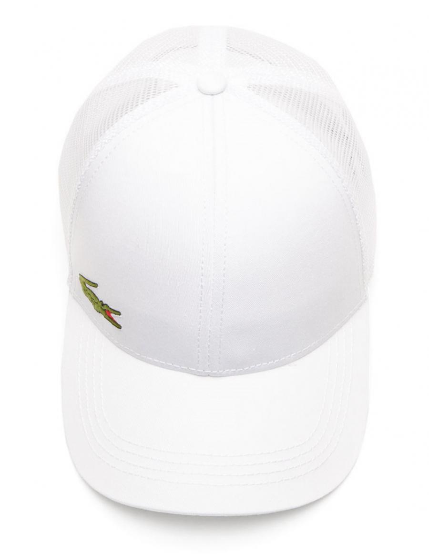 c0d0003b5f6d Lacoste hat - Trucker cap - white + LOW shippingcosts