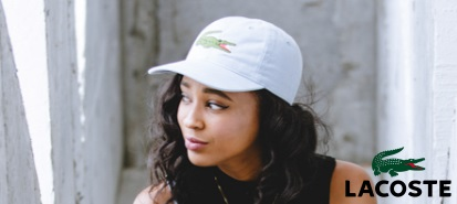Lacoste hats at Cap Cartel